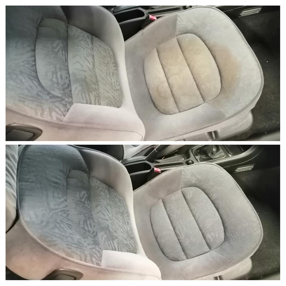 Nettoyage intérieur sièges tissu